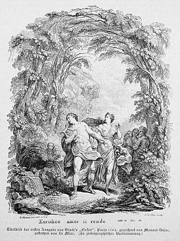 Орфей и Эвридика (опера Кристофа Виллибальда Глюка) либретто на русском языке