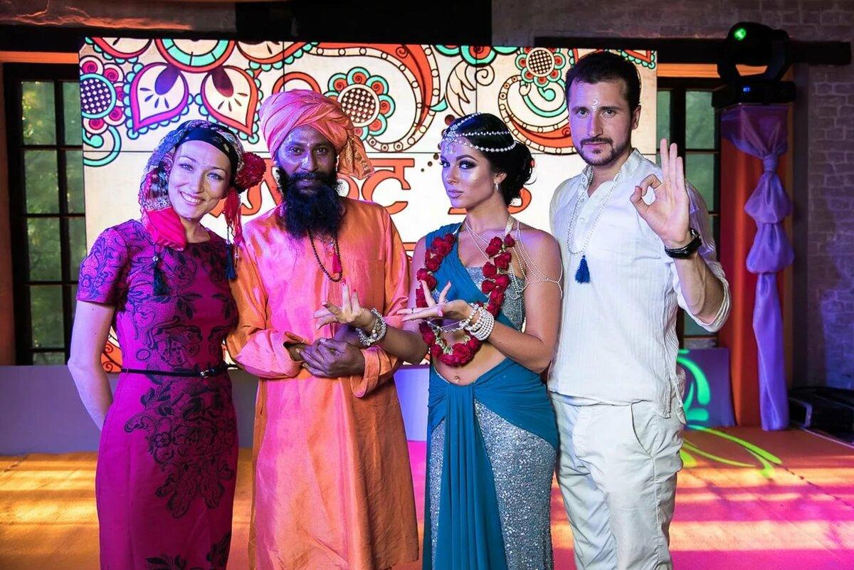 Поздравление от жены мужу в индийском стиле