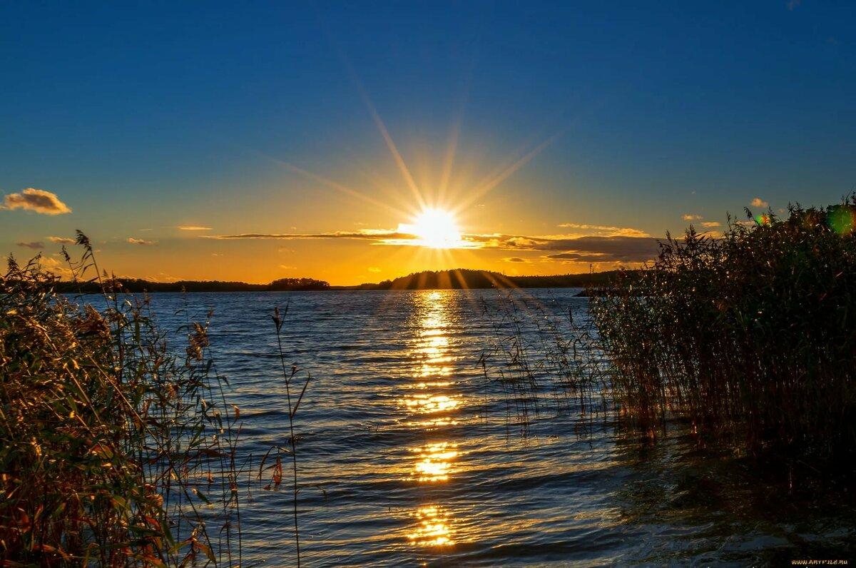 картинку красивый восход солнца на лабе карамельной заливкой