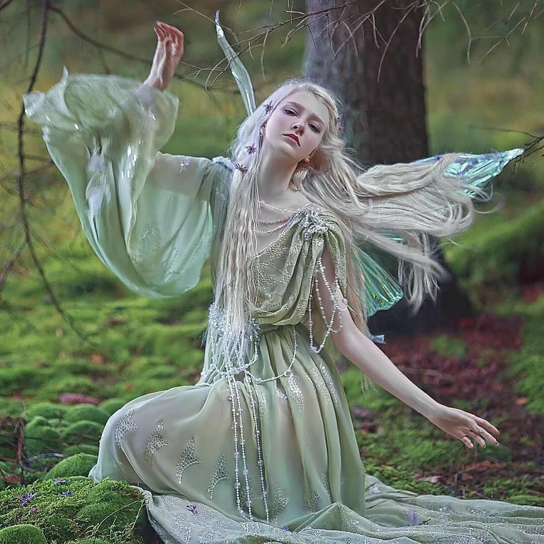 Картинки лесные феи и эльфы