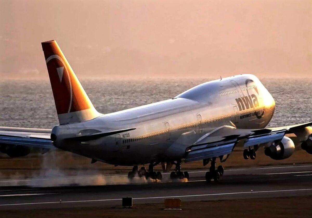 представляет картинка взлетающего самолета боинг для этого сначала