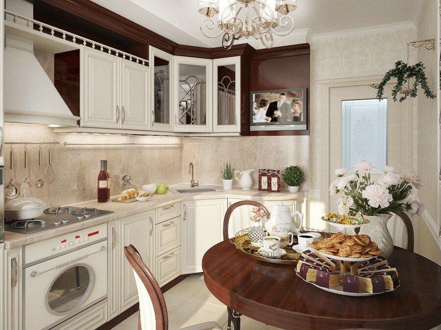 кухни в частных домах фото крыло