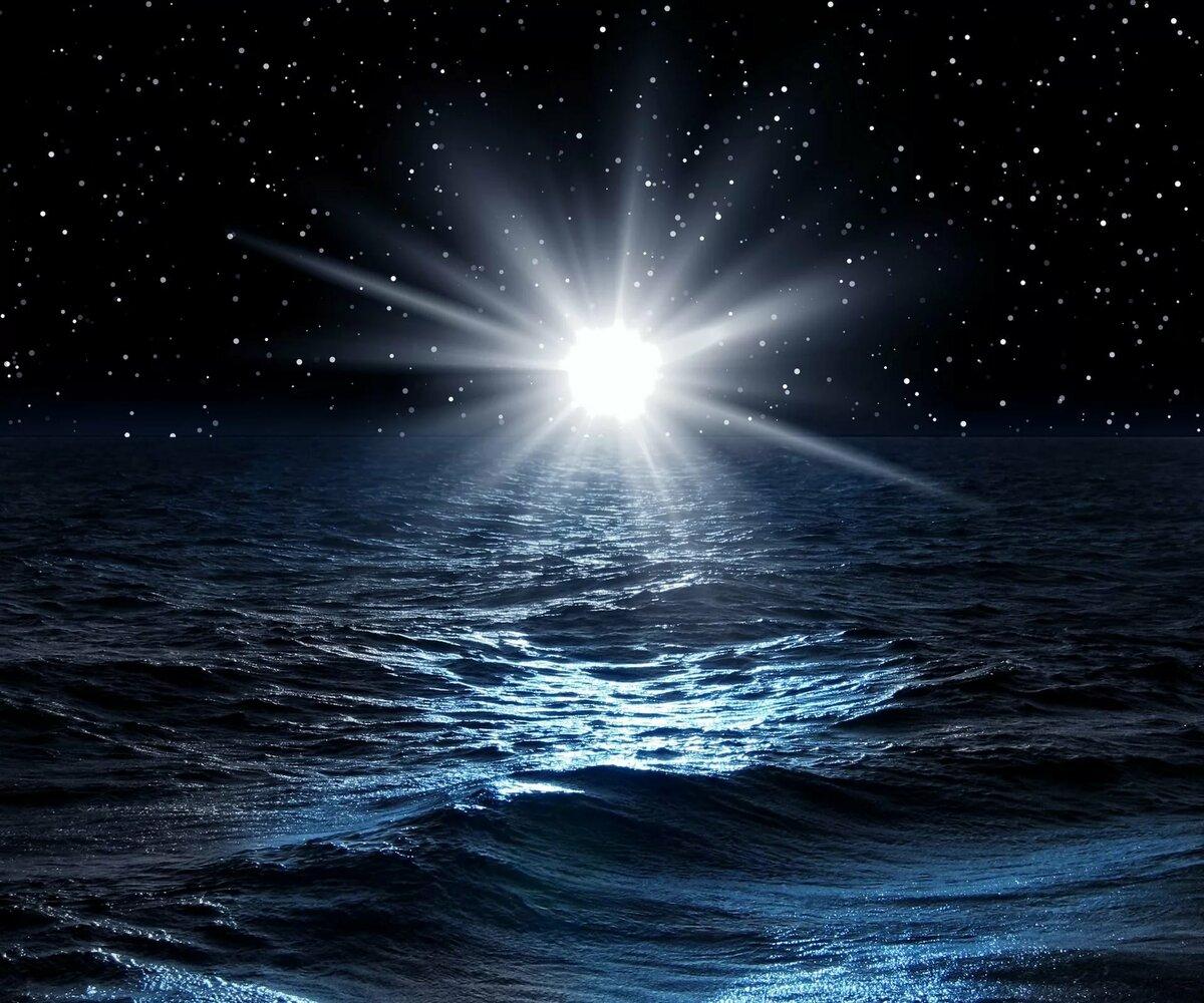 Картинки звезды над морем