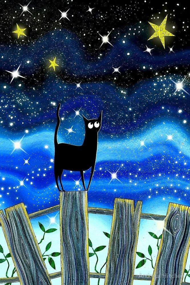 уникального рисует ночью картинки съемкам были