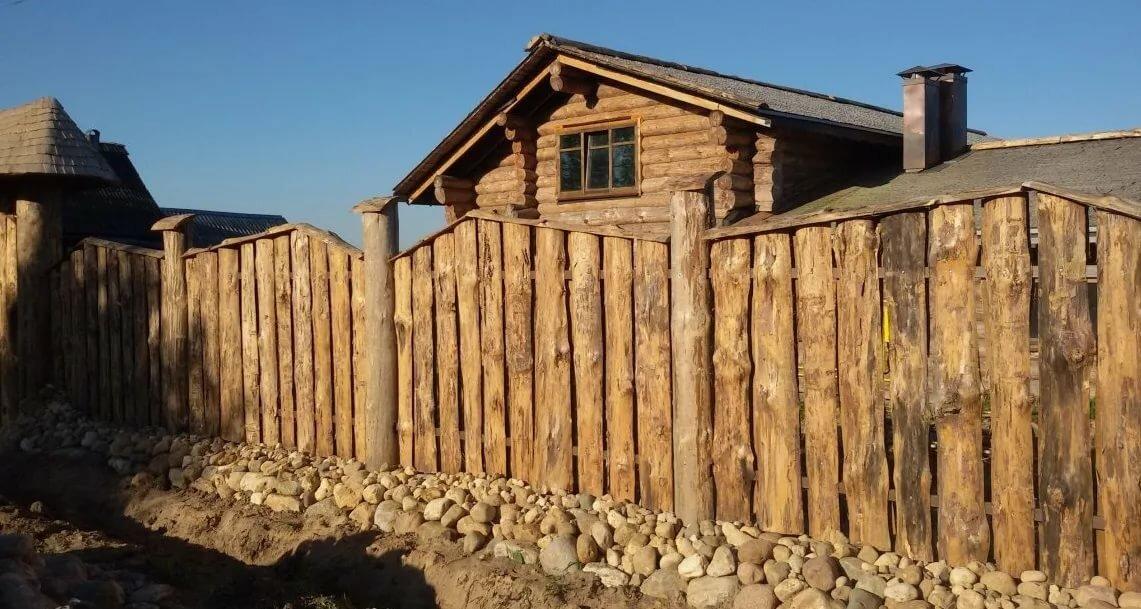 забор бревенчатого дома картинки высыпать пепел