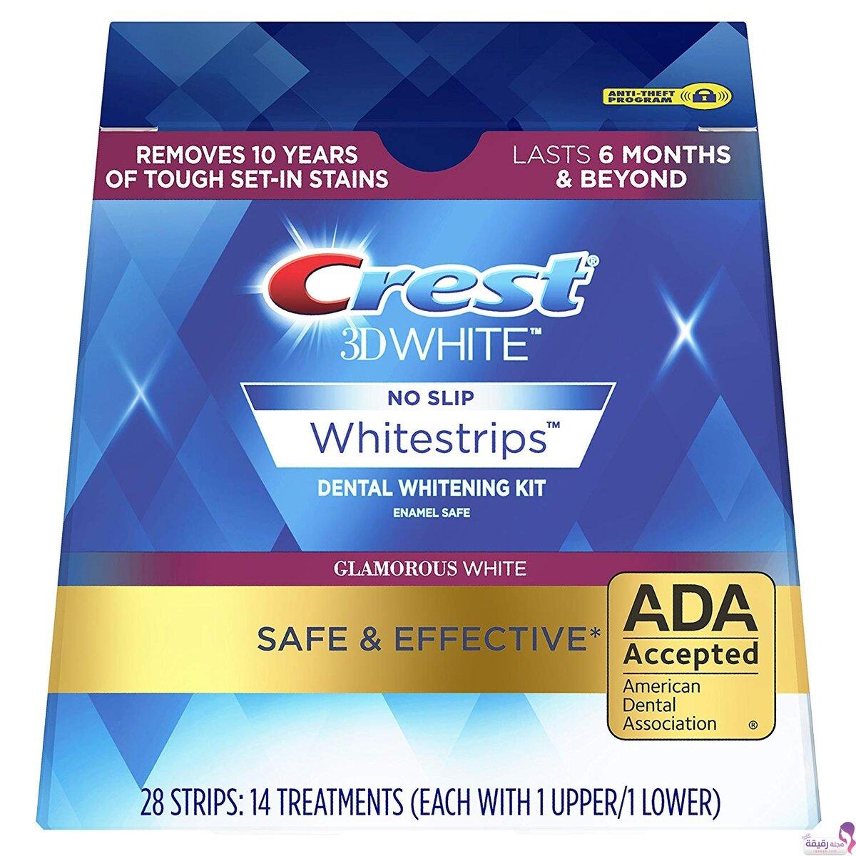Crest 3D White отбеливающие полоски
