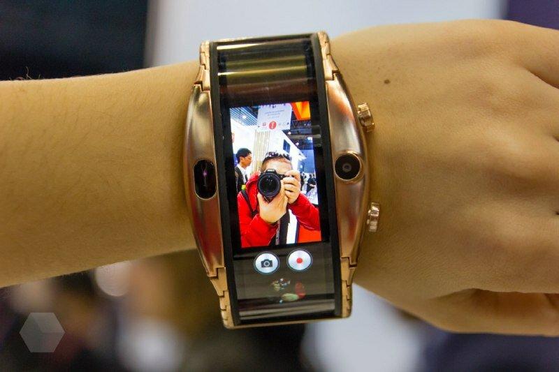 Часы смартфон ZTE NUBIA ALPHA с OLED-дисплеем в Киселёвске