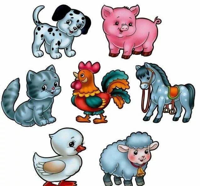 Картинки животные для развития малышей