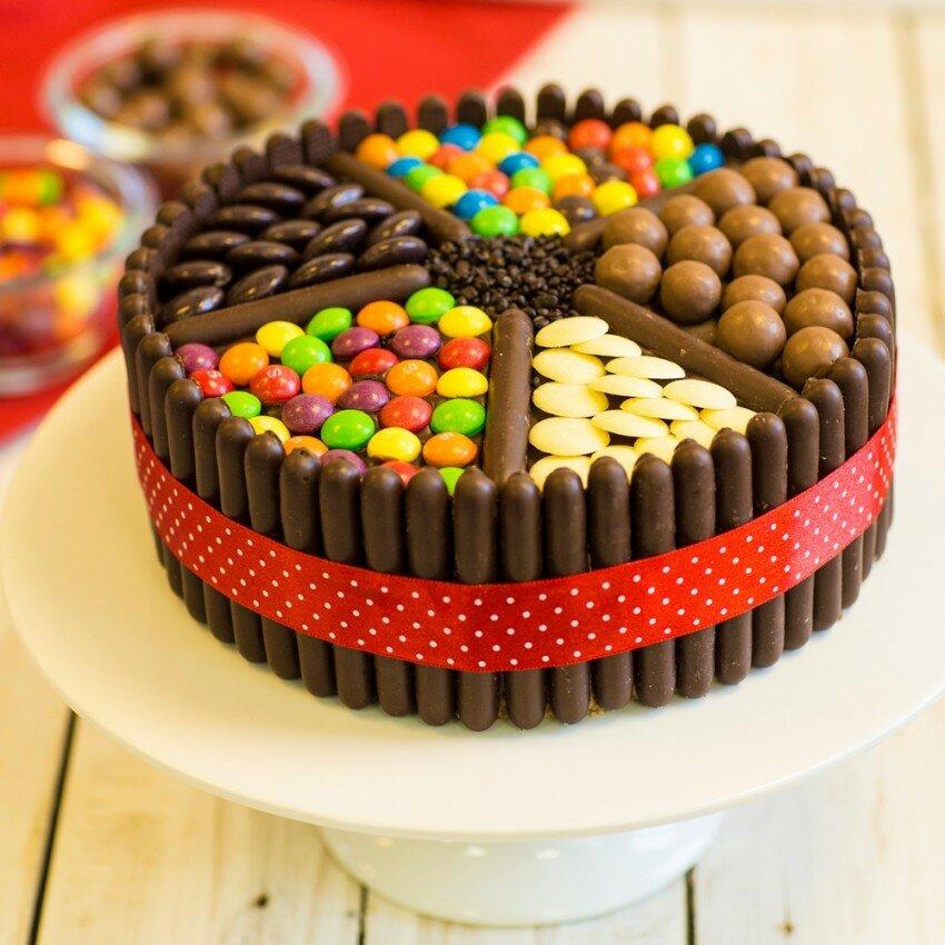 торт на день рождения рецепты с фото может быть батарейка