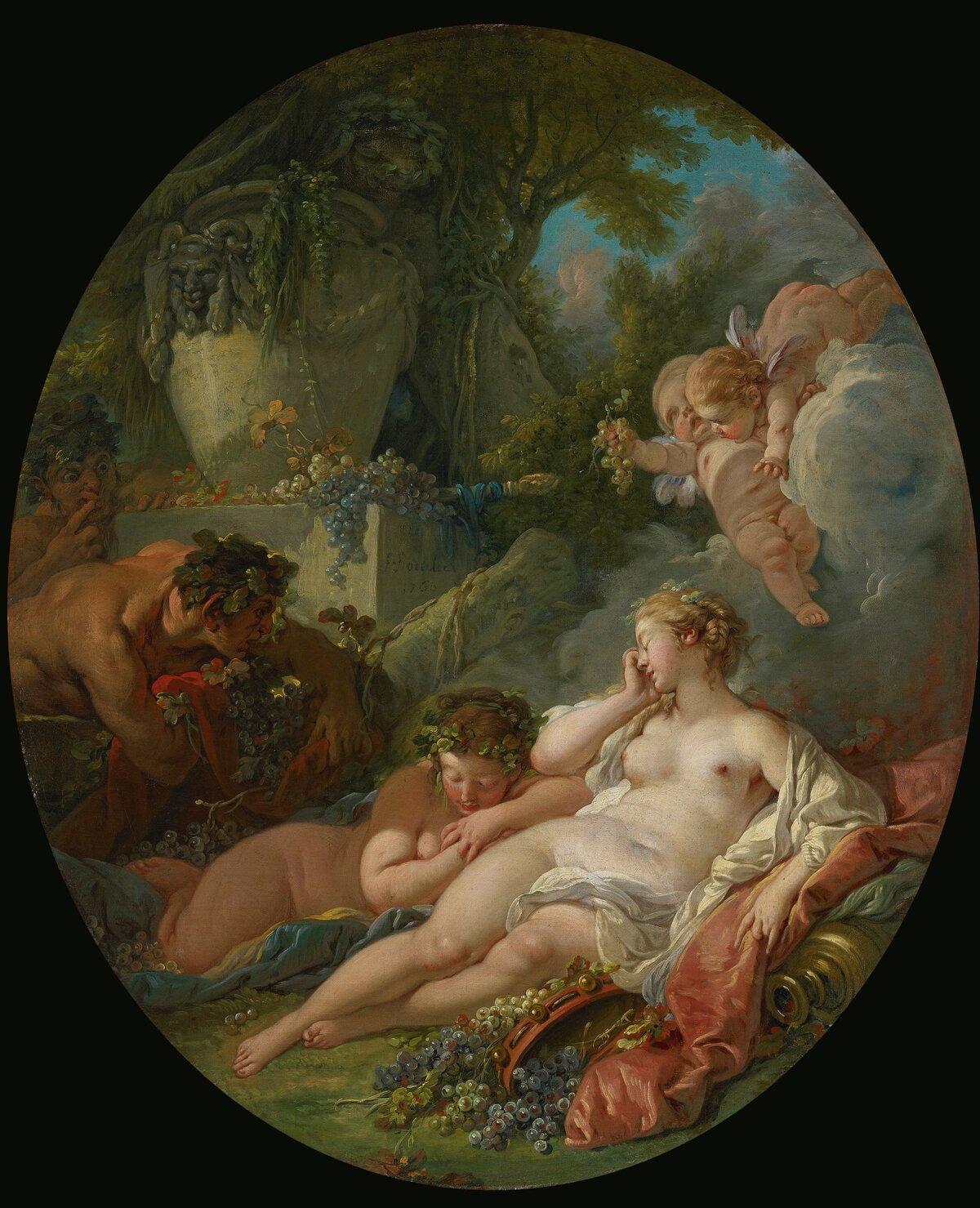 Древнегреческий сюжет картинки буше венера и вулкан
