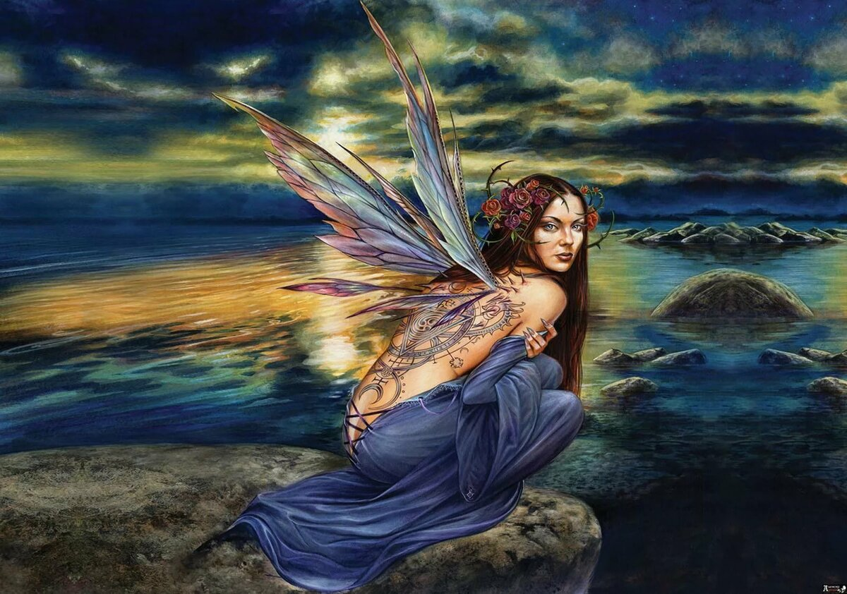 дорогой фея моря картинки временем