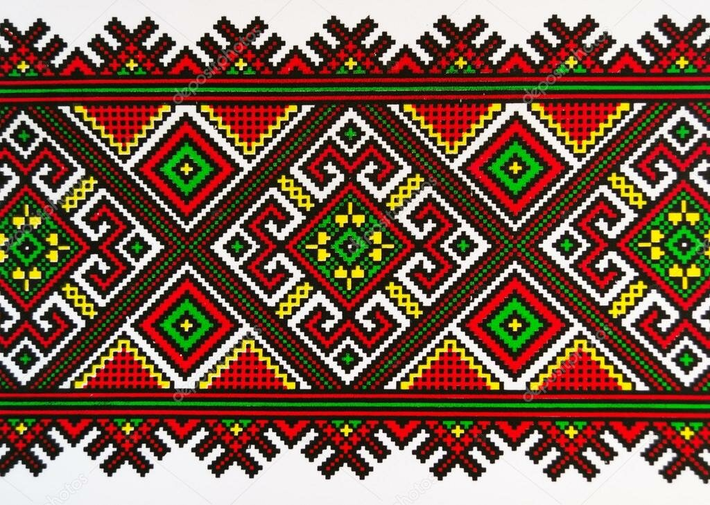 Картинка орнамента украинского