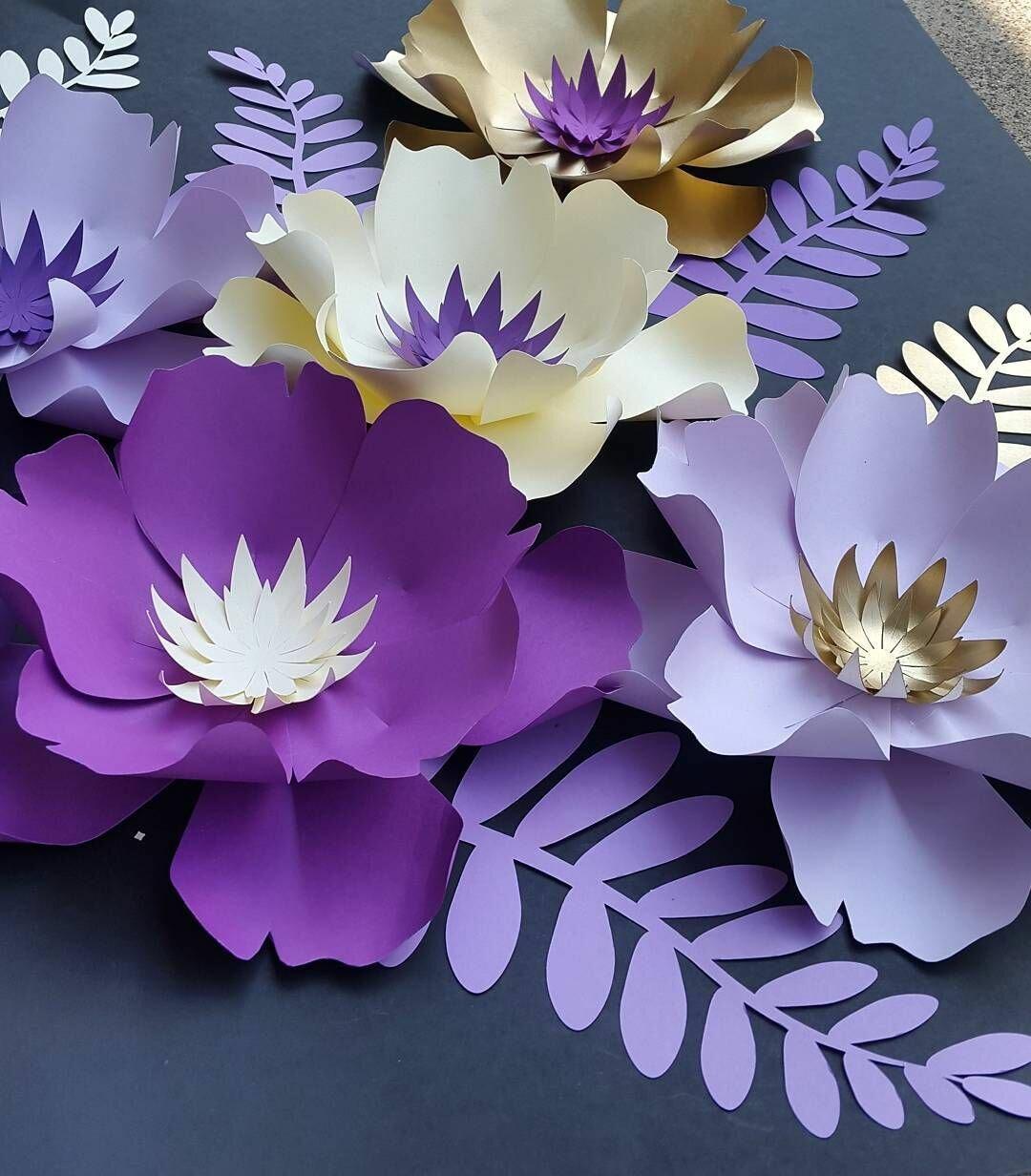 основным красивые бумажные цветы картинки правой кнопкой