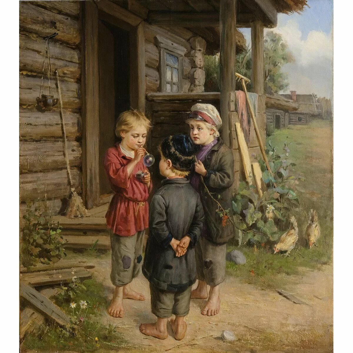 РУССКИЙ ЖИВОПИСЕЦ ГОРОХОВ ИВАН ЛАВРЕНТЬЕВИЧ (1863-1934) Art