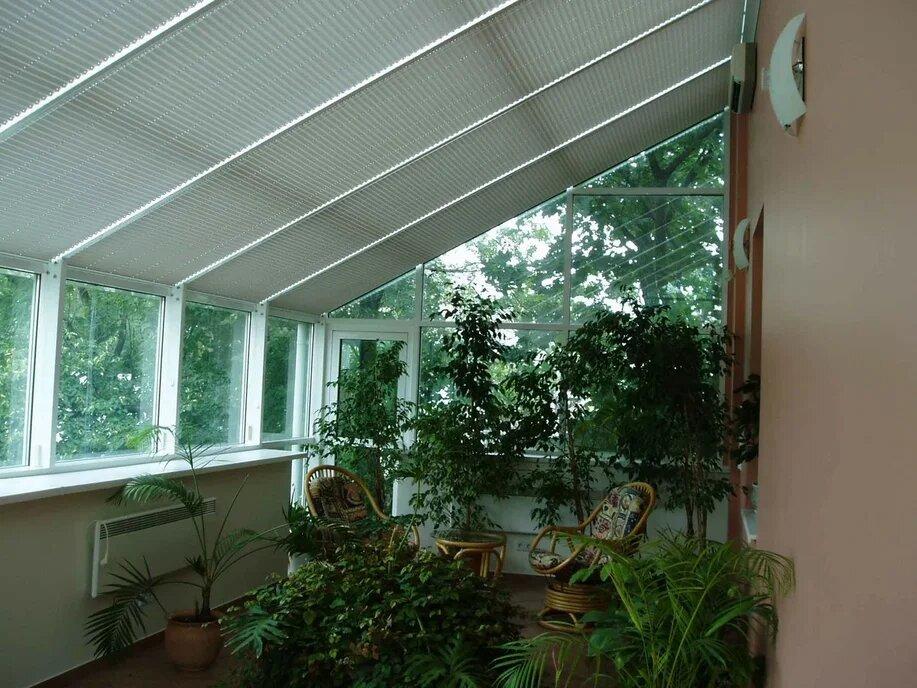 просто шторы в зимний сад фото императрица