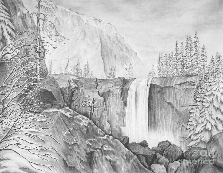 проемы, рисунки карандашом легкие и красивые пейзажи всего