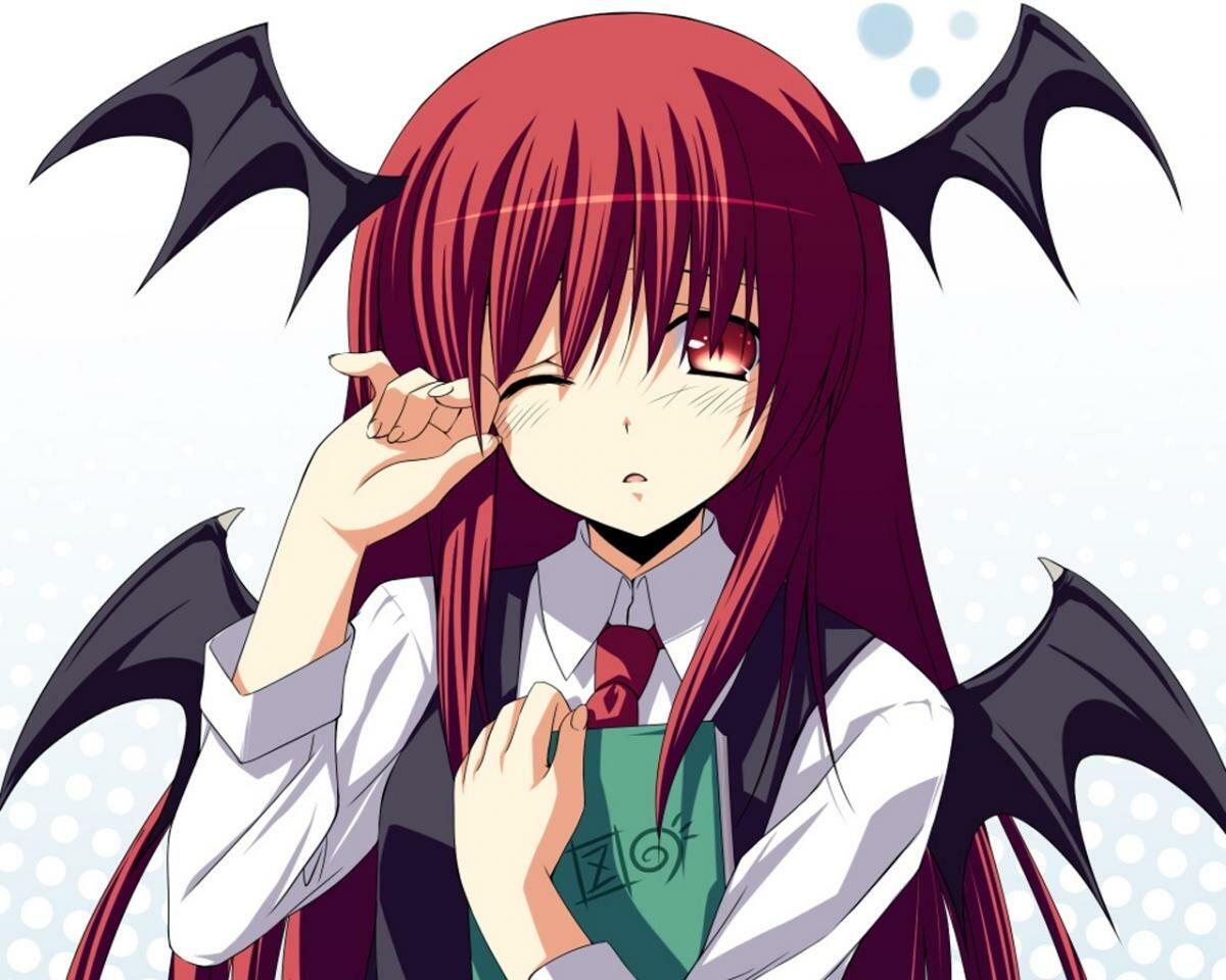 Сатана девушка аниме картинки