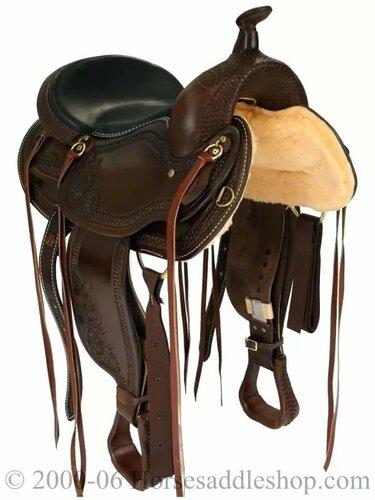 испанское седло для лошади