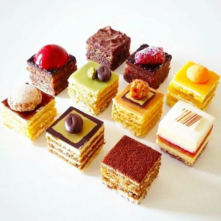 Пирожные рецепты с картинками