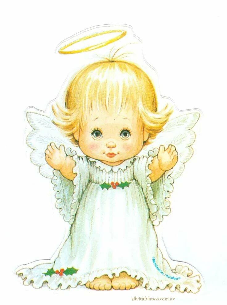 картинки рождественских ангелов с крыльями также