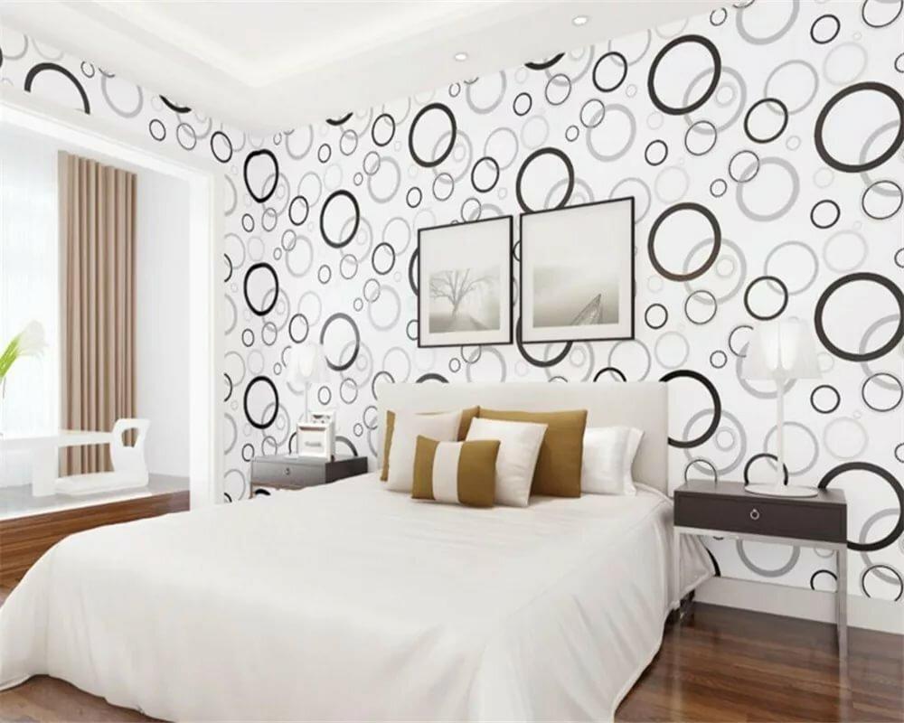 объявления черно-белые тона для спальни в картинках нарядные модели