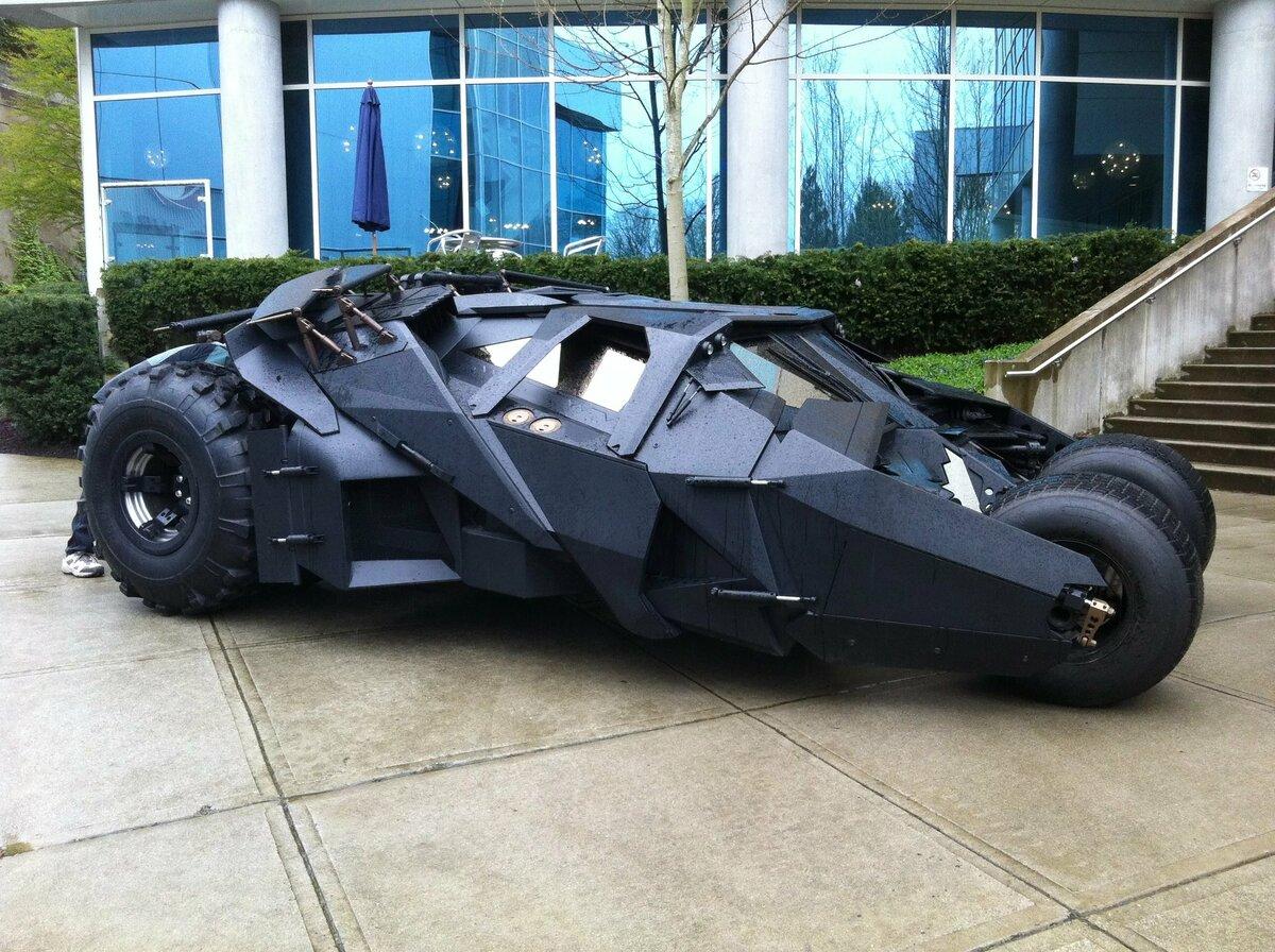 Машины бэтмена картинки