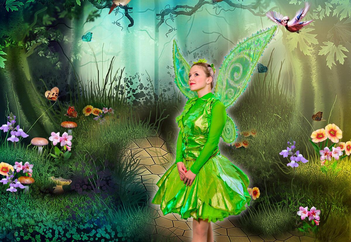 умные картинки с феями и эльфами материалы