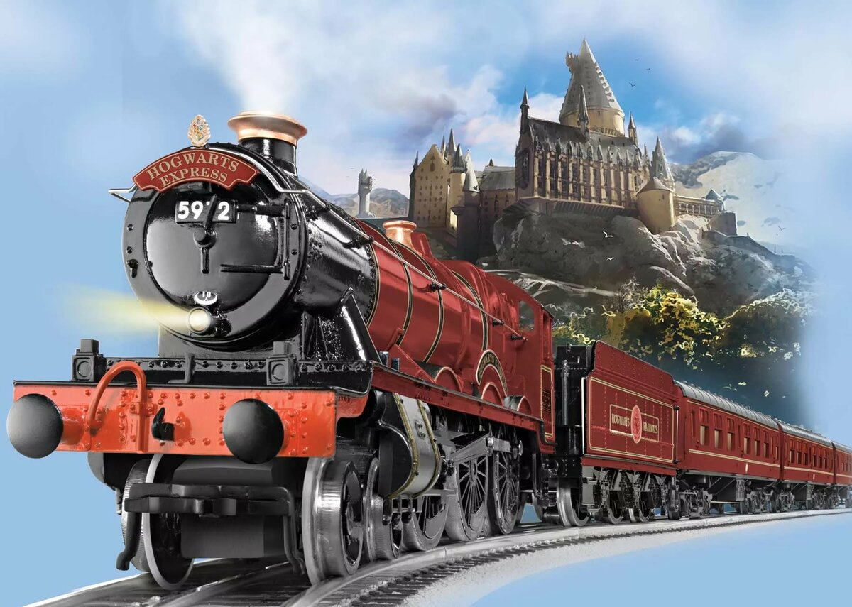 Гарри поттер картинки поезд