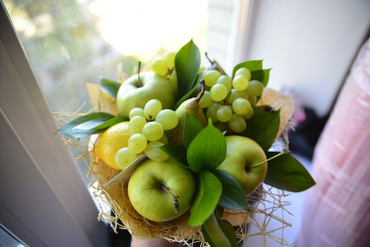 картинки букет из яблок мнению