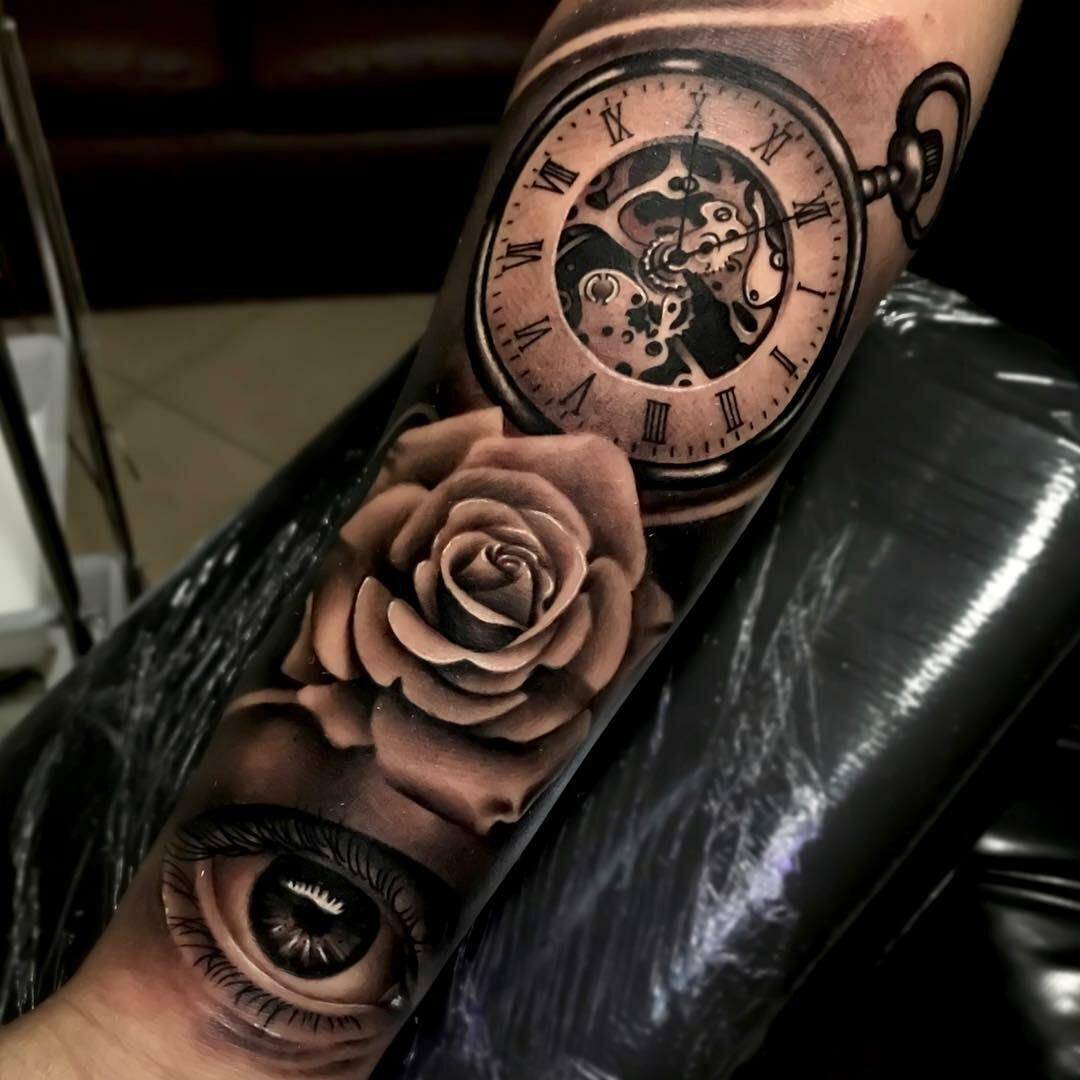 объединил тату часы фото на руке голых фейков красивых