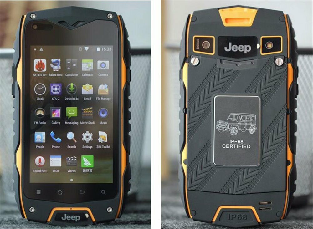 Смартфон Jeep Z6 IP68 в Комсомольске-на-Амуре