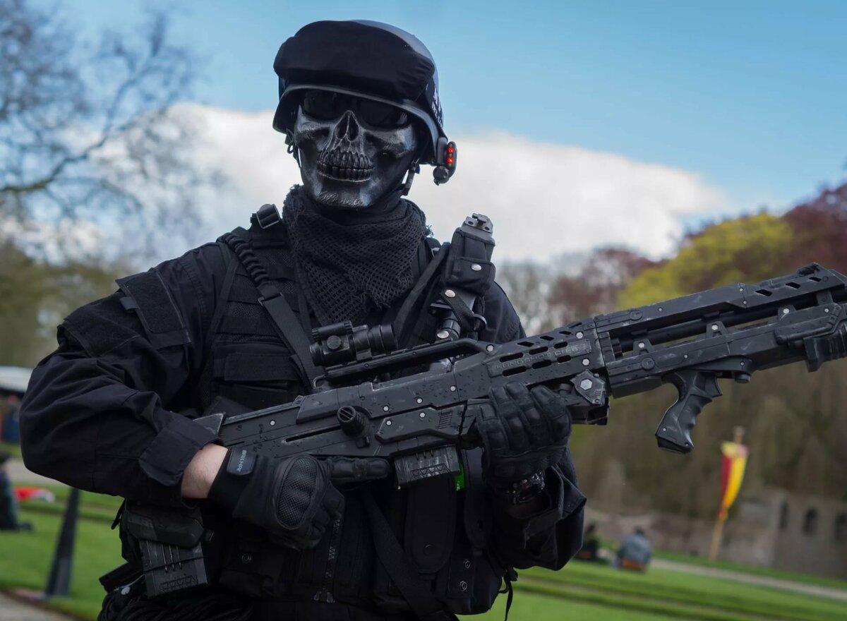 картинки спецназа в масках и с автоматами