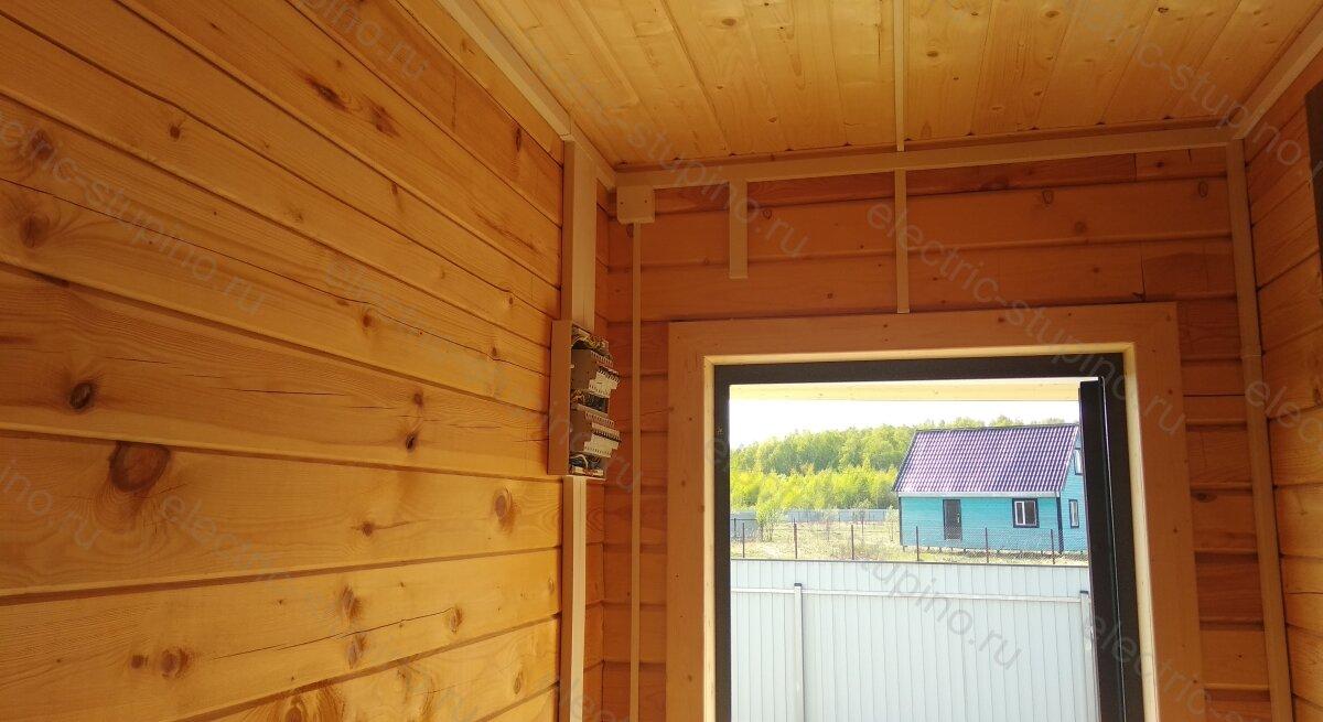 Электропроводка в частном доме в Михнево