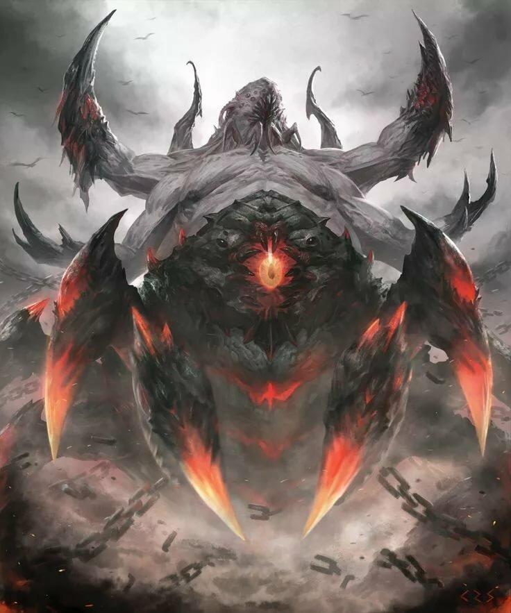Картинки демоны ада список
