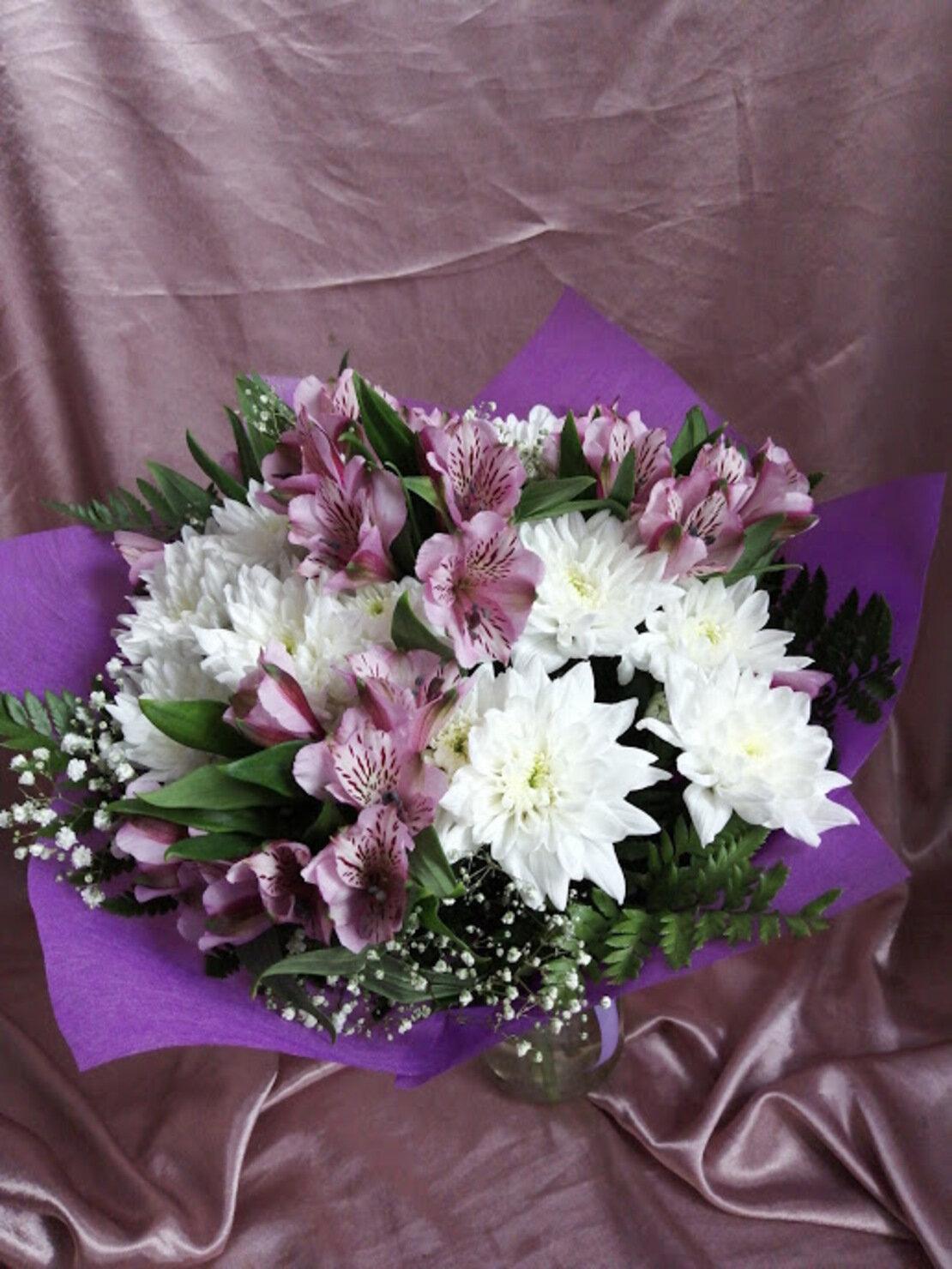 пожелать тебе букеты из хризантем и альстромерий фото красноярске собрал самые