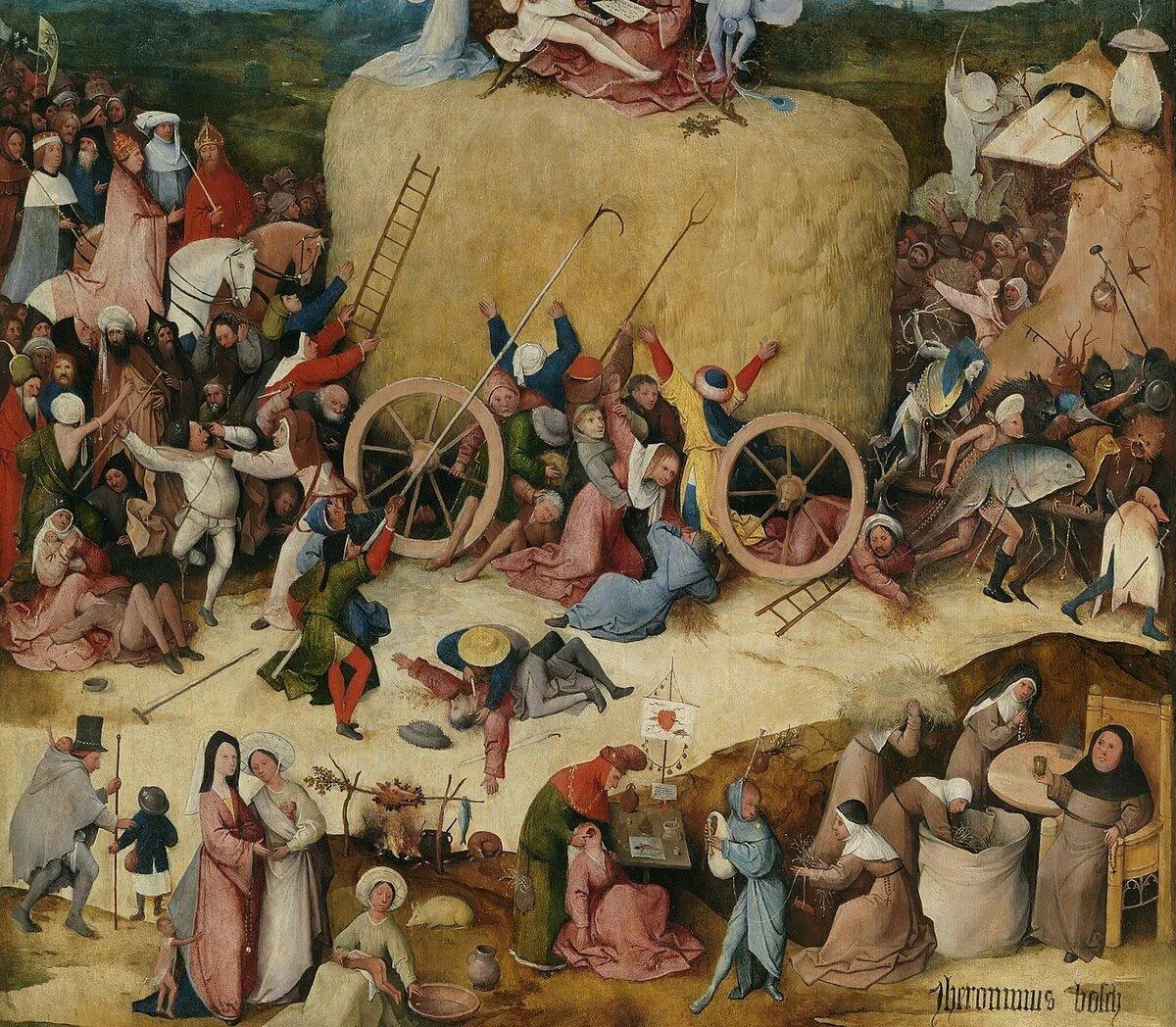 правда, иеронима босха фото картин день посвящен великомученице