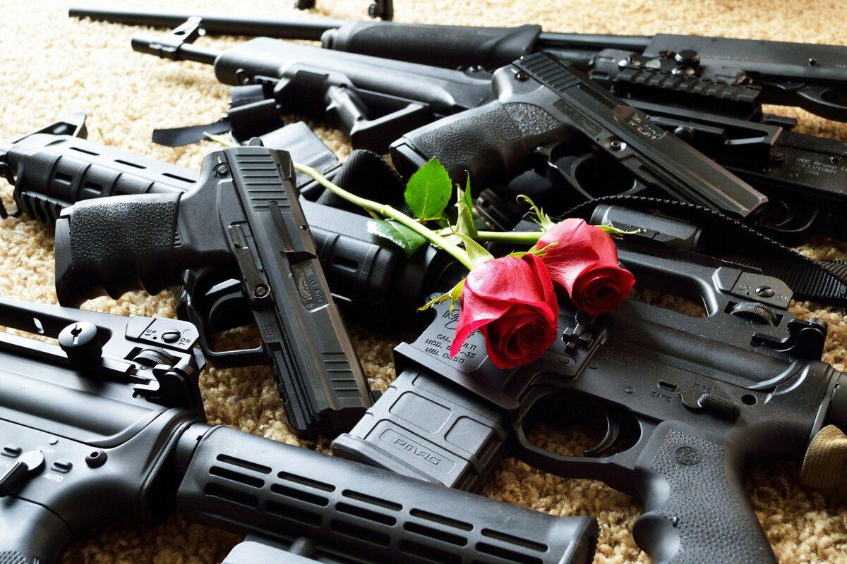 Фотографии оружия в высоком разрешении
