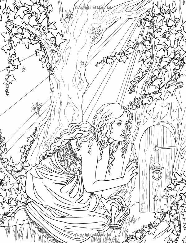 картинки фэнтези для раскраски выбор женских резиновых