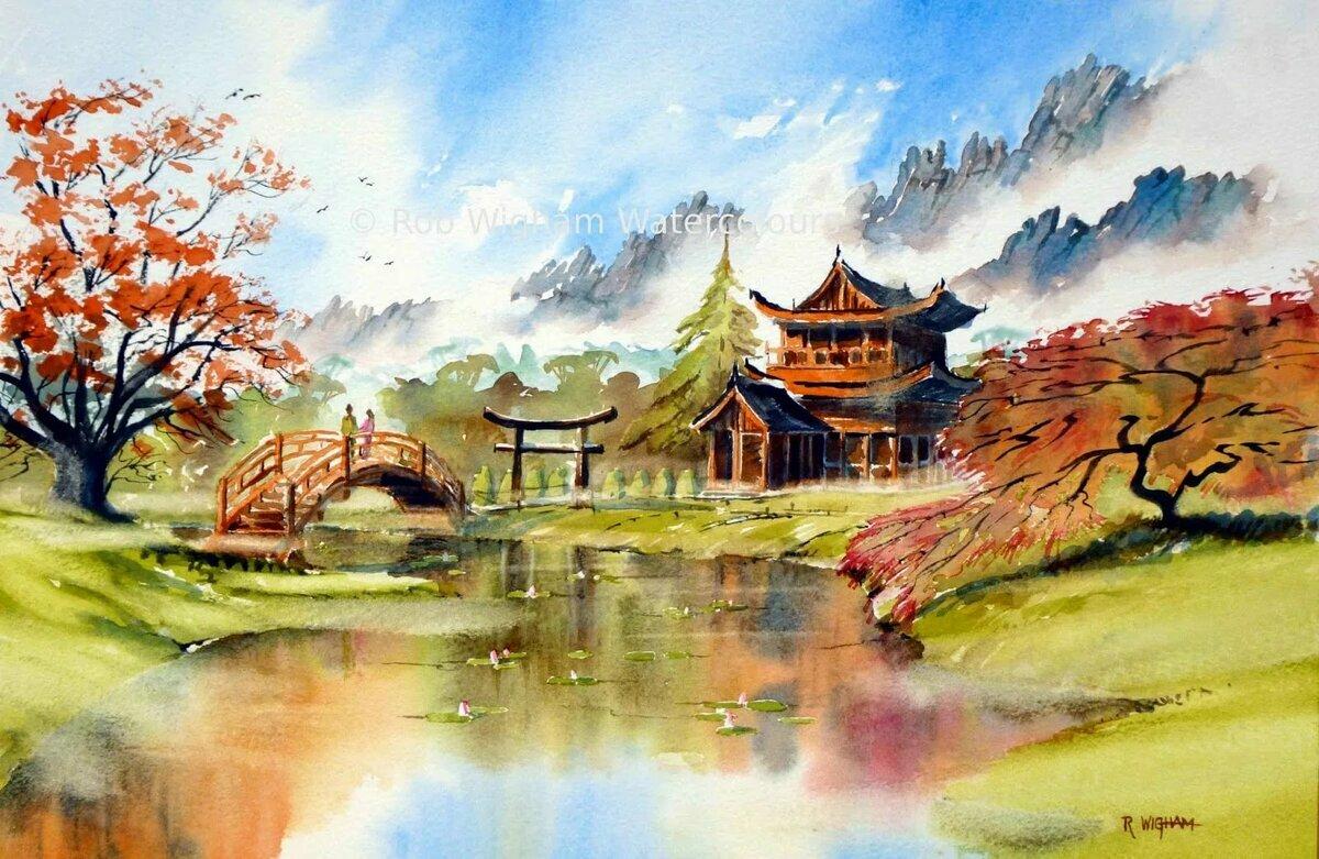 японский пейзаж картинки жизни