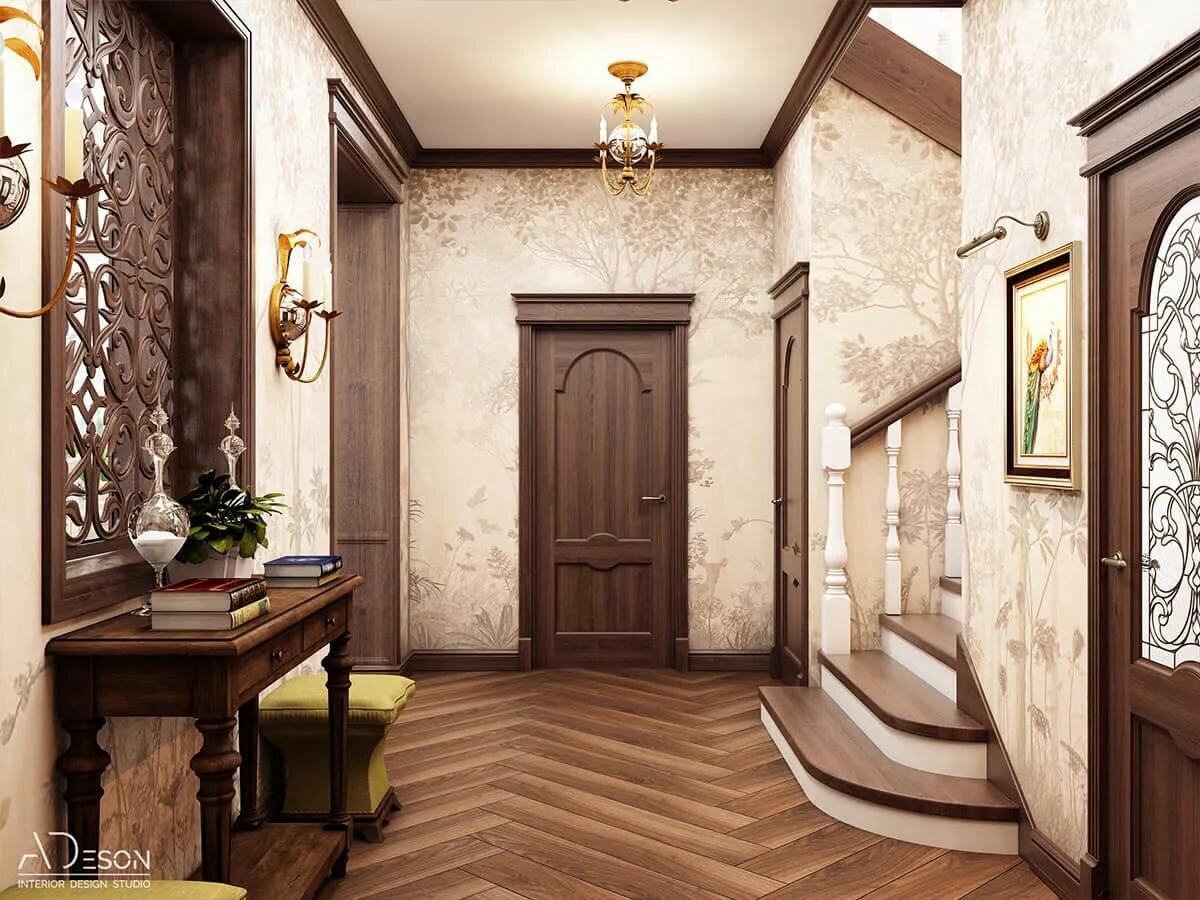 красивые коридоры в домах фото большой