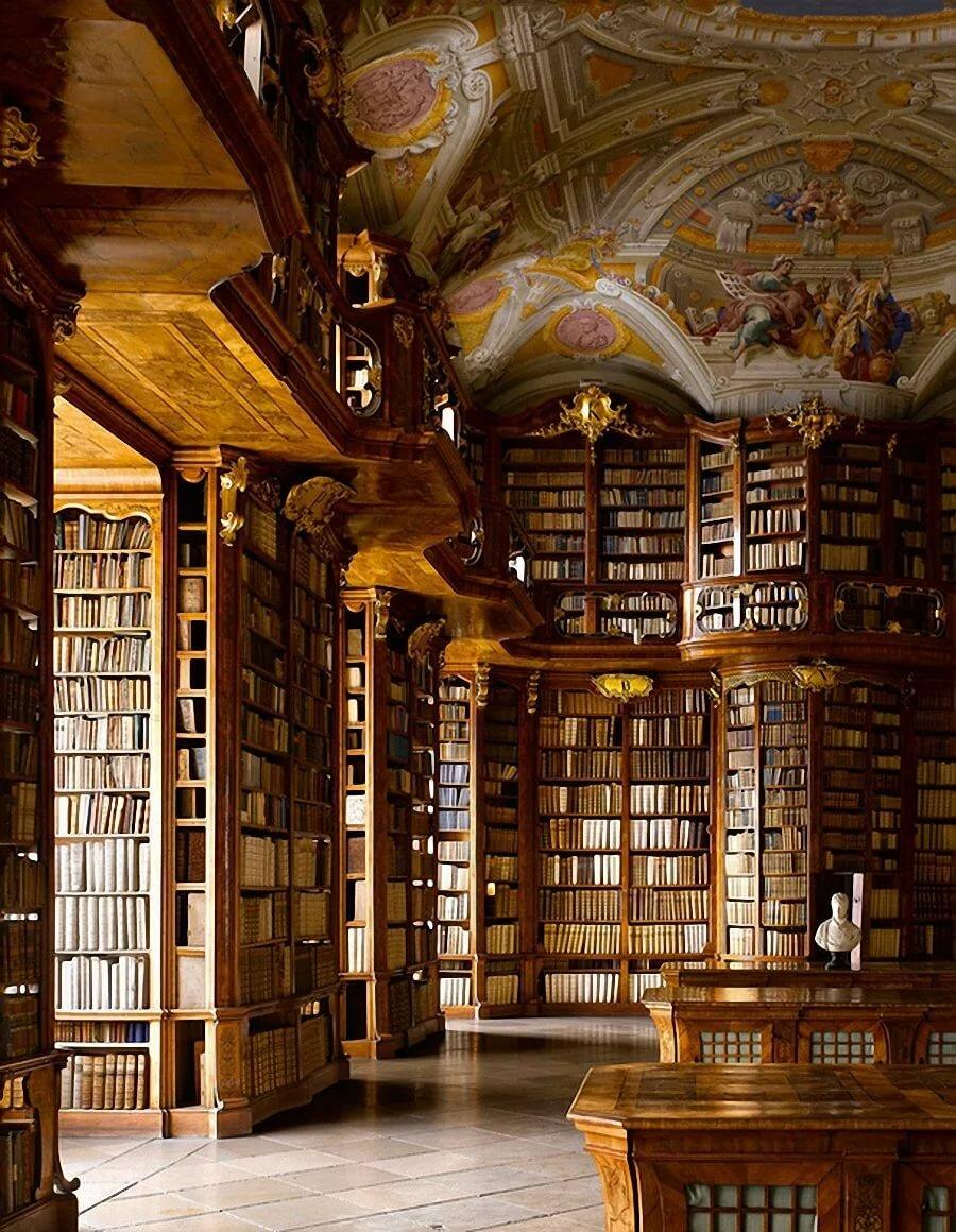 Фото огромных библиотек