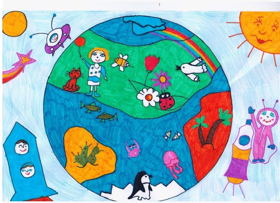 рисунок на тему моя земля мое богатство