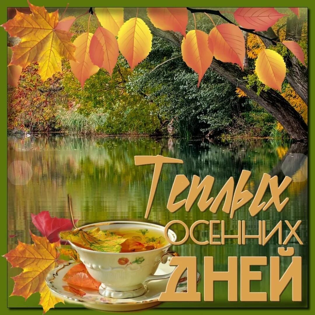 Пожелание доброго осеннего дня в картинках