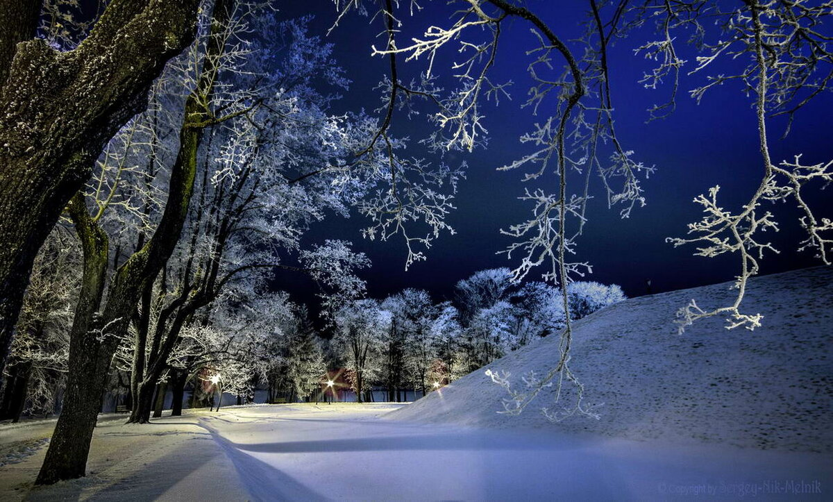 Картинки зимних вечерах