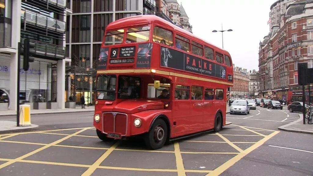 Автобус в великобритании картинки