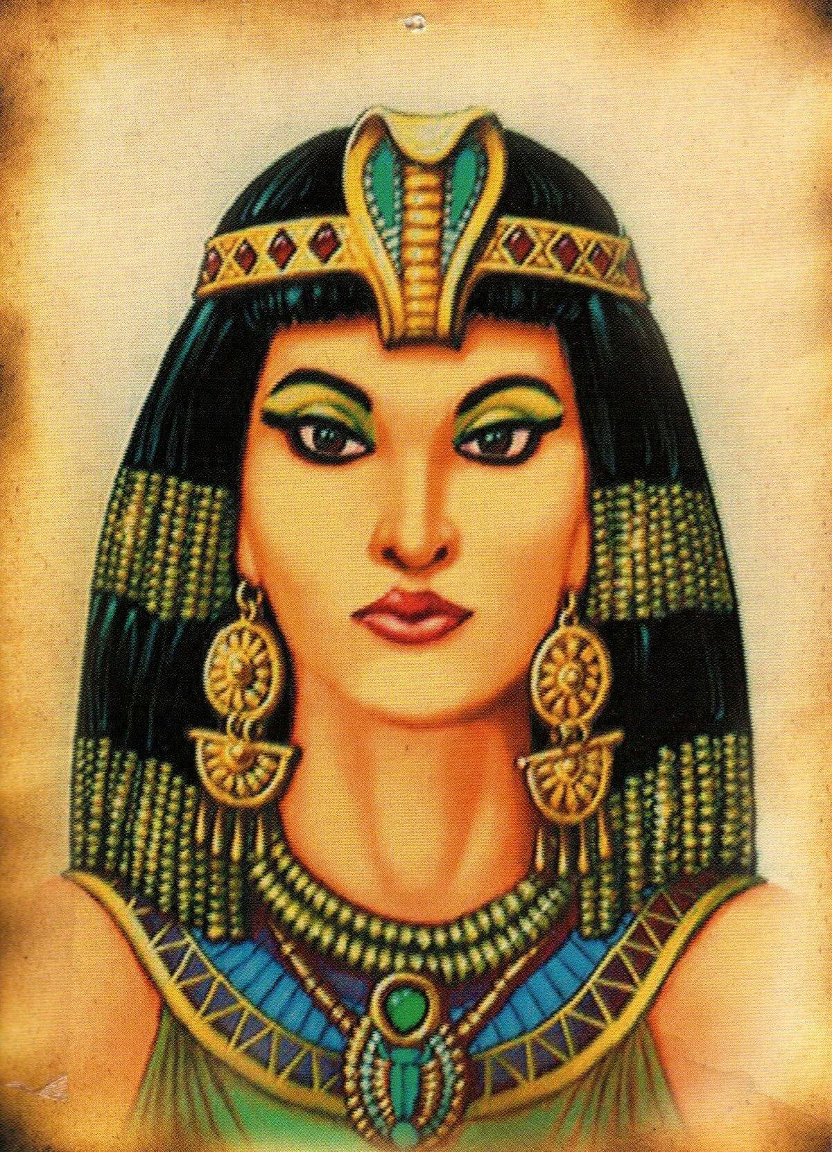 Египетские рисунки клеопатра