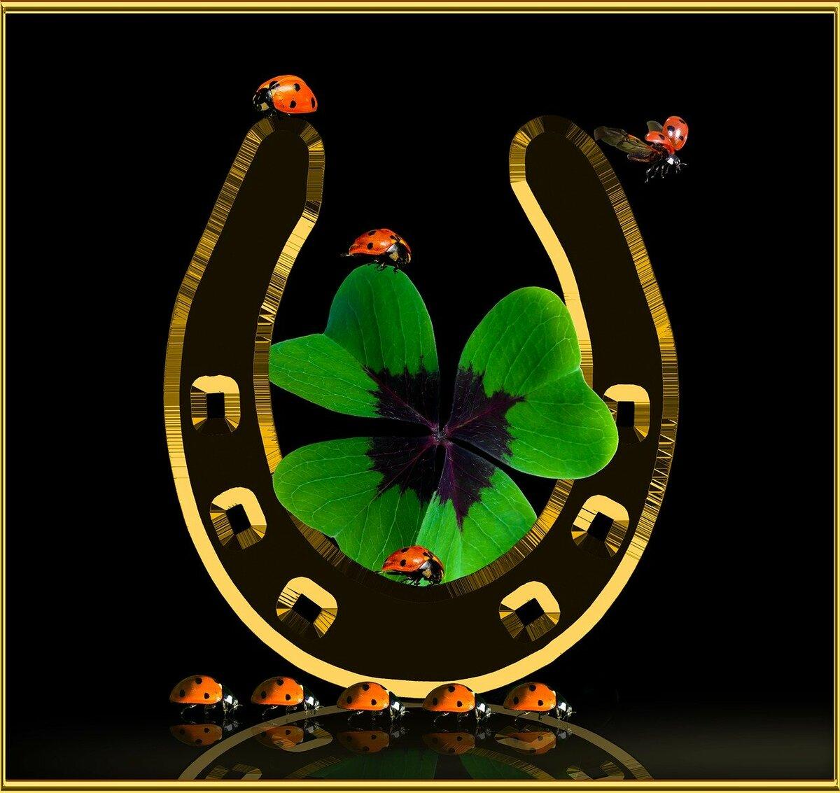 Символы приносящие удачу и богатство картинки