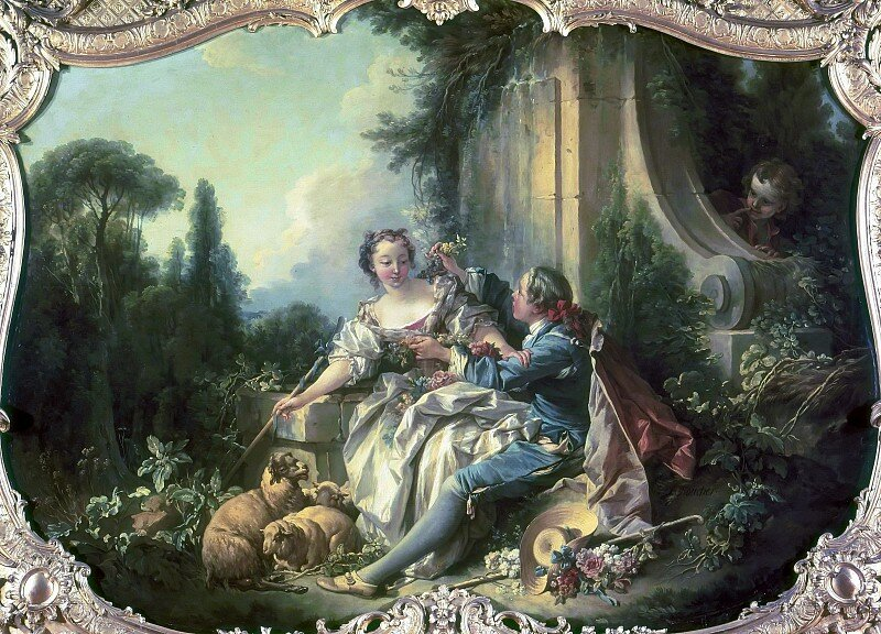 Картинки для декупажа в стиле барокко группу