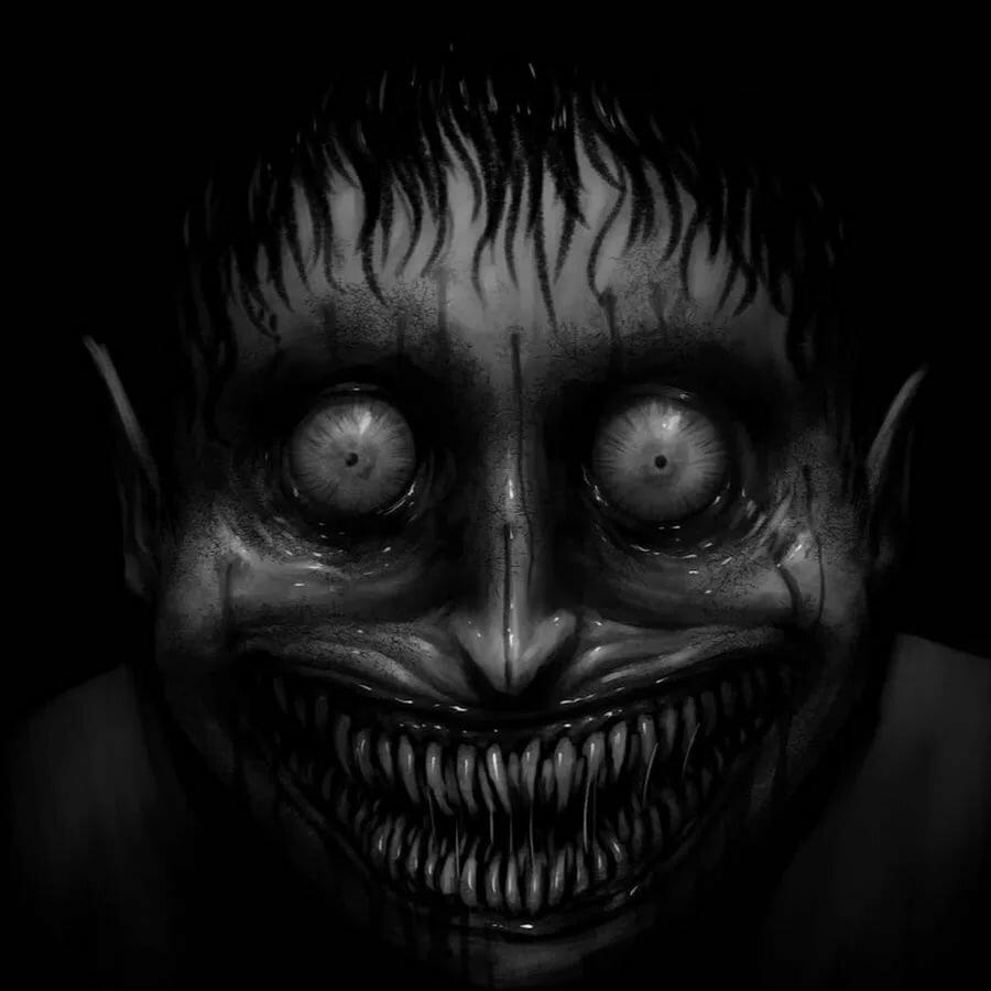 Картинки лиц страшных