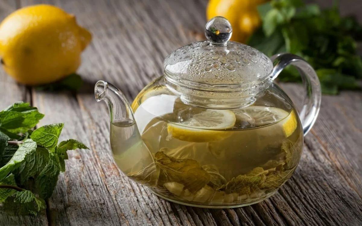 картинка зеленый чай с имбирем асфальта вместе насыпью